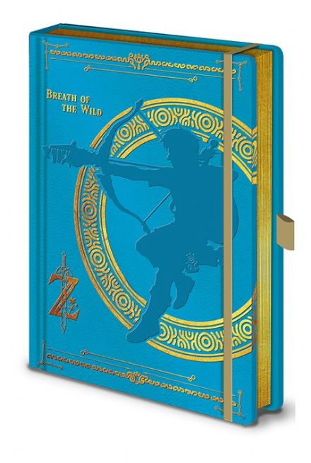 The Legend of Zelda Breath of the Wild A5 Notebook